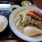 みよし食堂 - 天草海鮮ちゃんぽん  セット