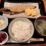 福ろう - 文化サバ塩焼定食