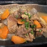 岬 - 日替りランチの牛すじの土手煮