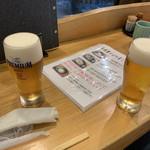 栄茶屋 - ビール