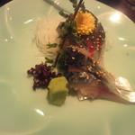 おでんと旬菜魚 中々 - 淡路の黄金サバ