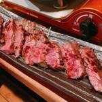 びぃすとろ 汁べゑ - 牛ハラミステーキ