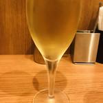あるでん亭 - グラスワイン     白
