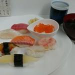 丸喜寿司 - 料理写真:オロロン握り