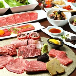 お肉とワインのマリアージュが醍醐ならではのコースで愉しめます