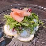 リストランテ ボンナターレ - 水蛸のカルパッチョ
