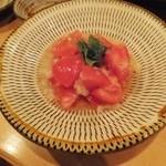 炊き餃子・手羽先 オクムラ - トマトと塩麹のサラダ