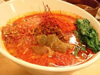 担々麺 ほおずき - 激しく辛い坦々麺