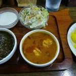 インド料理ヒマラヤ - 日替りTWOランチセット¥860