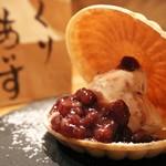 寅次郎 - 渋皮栗アイスモナカ