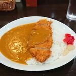 CBカレーキッチン - 料理写真:カツカレー大盛り(ライス)