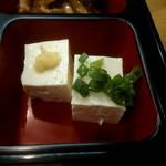 115778091 - 豚の生姜焼き定食の冷や奴