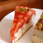 クレマスイーツ - 苺のラフィネタルト