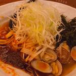 辛麺 真空 - ◆海ネギ増し 900