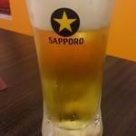 24時間 餃子酒場 - ビール 格安です^^