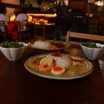 ひなた屋 - 料理写真:へべすグリーンカレー