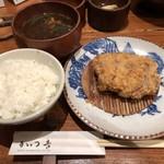 115797606 - 2019.9.13  ひれかつ定食 150g