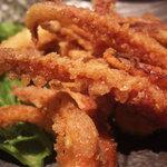 腹八分目 - イカゲソ揚げ