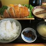 竹むら - 料理写真:特ロースかつ定食