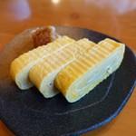 蕎麦屋 慶徳 - だしまき