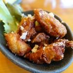 蕎麦屋 慶徳 - 唐揚げ