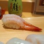 新宿栄寿司 - 甘海老