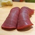 新宿栄寿司 - 鮪の中トロ