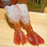 新宿栄寿司 - 牡丹海老