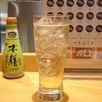 新宿栄寿司 - サントリー知多のダブルのハイボール