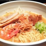 黒椿屋 - 海老味噌麺