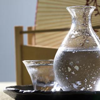 【厳選】日本酒や焼酎、ドリンクが常時50種以上!