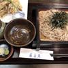 新潟古町 藪そば - 料理写真:舞茸天ざる