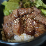ばんばん亭 - 料理写真:焼き肉丼1000円