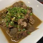 わんぱく亭 - 料理写真:牛モツ煮込み定食
