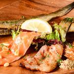 サルディーナ - 料理写真:燻製の盛り合わせ