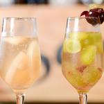 サルディーナ - ドリンク写真:シャンパンカクテル