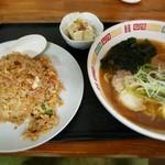香娘めん - 料理写真:チャーハンセット 650円