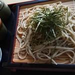 温泉民宿たかはし - 料理写真:ざるそば