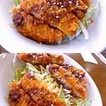 中村屋 - ソースかつ丼(ランチタイム100円)