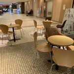北海道牛乳カステラ - テーブル席
