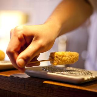 天使エビやフォアグラの≪良質食材≫を贅沢に丁寧に仕上げます。
