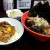 いろは - 料理写真:富山ブラック Aセット 焼きのりサービス
