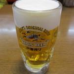 珍来 - 生ビール