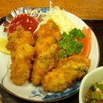 たち花 - カキ定食(カキフライ)