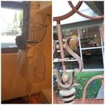 ツキノニジ - ◆店内◆♪ ◆中庭◆♪