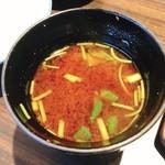 福寿館 - 赤だし