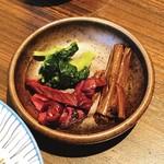 福寿館 - 香の物