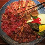 焼肉 88 雅楽 - Aセット/ロース、カルビ、ハラミ各2人前(5,775円)