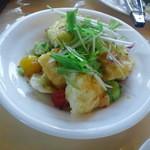カフェ・ビアレストラン エル・トマ - 豆腐のサラダ(380円)