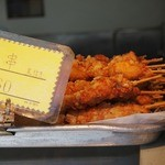 鳥藤 - 料理写真:串60円皮付